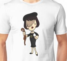 ITS A CLUE! Was it Mrs. White with the ROPE? Unisex T-Shirt