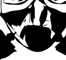 Little Girl with a broken Gas Mask T-Shirt  Sticker