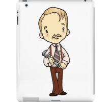 ITS A CLUE! Was it Colonel Mustard with the WRENCH? iPad Case/Skin