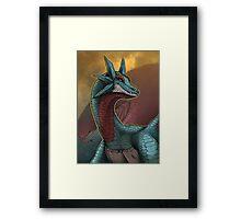 Pokemon - Salamence Framed Print