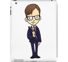ITS A CLUE! Was it Mr. Green with the LEAD PIPE? iPad Case/Skin