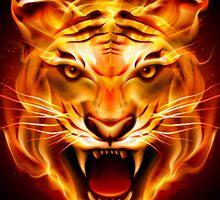 Fire Tiger by KaiDang