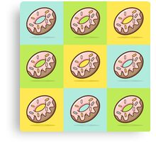 Doughnut - Sprinkles Canvas Print