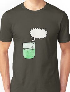 cartoon chemical beaker Unisex T-Shirt