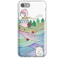 To Grandmother's house we go iPhone Case/Skin