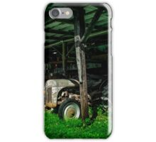 Tractor Parking iPhone Case/Skin
