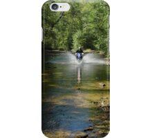 Dirt Biking in Clay County, West Virginia iPhone Case/Skin