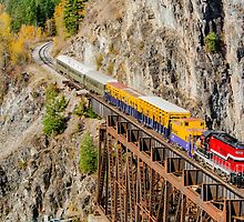 Pend Oreille Valley Railroad by Jim Stiles