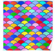 Colorful SemiCircles Poster