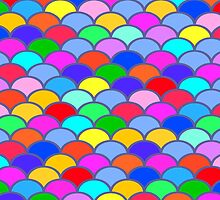 Colorful SemiCircles by Greenbaby