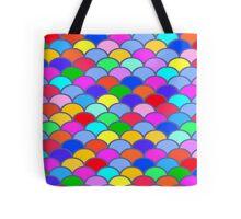 Colorful SemiCircles Tote Bag