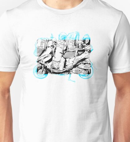 fully loaded scooter image Unisex T-Shirt