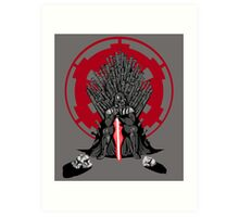 Playing the Game of Clones Art Print