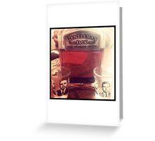 Gentleman Jack & Friends Greeting Card