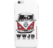 WWJD ? iPhone Case/Skin