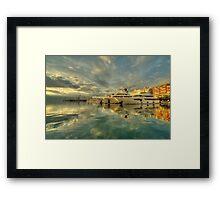Rijeka Yachts  Framed Print