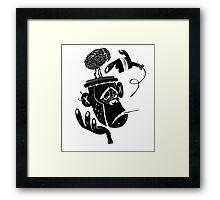 Numb Skull Monkey Framed Print