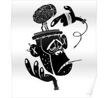 Numb Skull Monkey Poster
