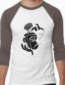 Numb Skull Monkey Men's Baseball ¾ T-Shirt