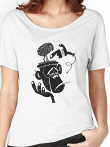 Numb Skull Monkey Women's Relaxed Fit T-Shirt