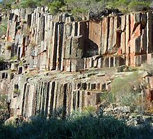 Organ Pipes - Gawler Ranges National Park by Ian Berry
