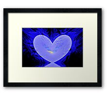 Cool Heart Framed Print