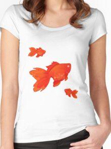 Sweet Orange Women's Fitted Scoop T-Shirt