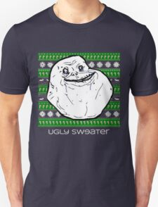 Forever Alone Ugly Sweater T-Shirt