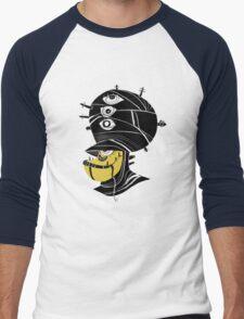 Desert Alien Men's Baseball ¾ T-Shirt