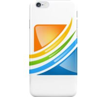 square loop business finance iPhone Case/Skin