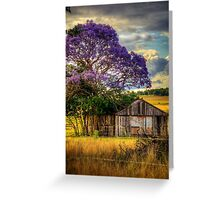 Jacaranda... Greeting Card