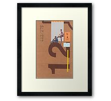 Outside Framed Print