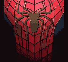 Comic-Colored Spider-Man by TinMan25