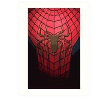 Comic-Colored Spider-Man Art Print