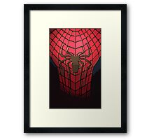 Comic-Colored Spider-Man Framed Print