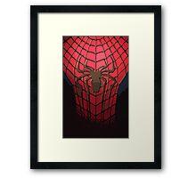 Comic-Colored Spider-Man Framed Print