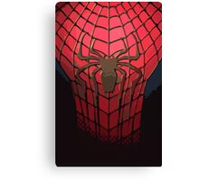 Comic-Colored Spider-Man Canvas Print