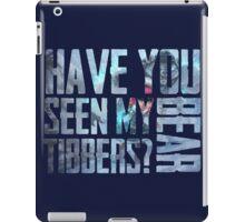 Have You Seen My Polar Bear Tiber? iPad Case/Skin