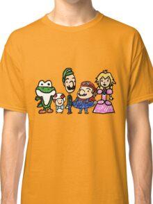 The Mushroom Kingdom Classic T-Shirt