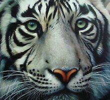 White Tiger by Creations of the Insane