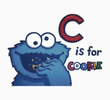 C is for Cookie Monster Kids Clothes