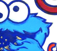 C is for Cookie Monster Sticker