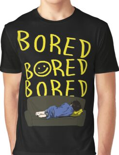BORED BORED BORED Graphic T-Shirt