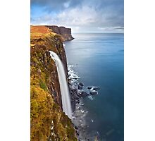 Kilt Rock Waterfall Photographic Print
