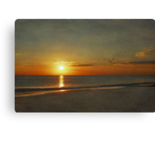 My Sun Sets to Raise Again Canvas Print