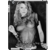 Zoe in Chains iPad Case/Skin