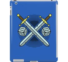 Crossed Swords and Dice iPad Case/Skin