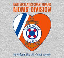 USCG Mom's Division Logo Womens Fitted T-Shirt