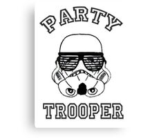 Party Trooper. Canvas Print