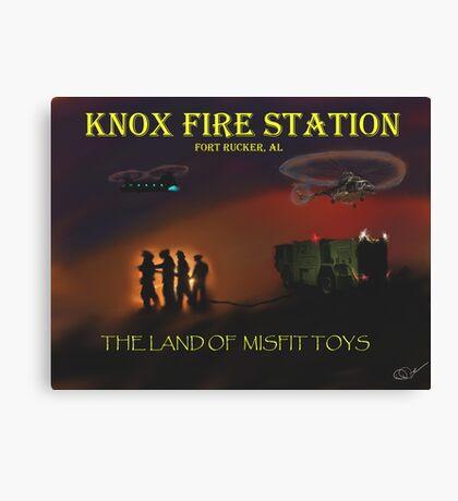 Knox Fire Station Canvas Print
